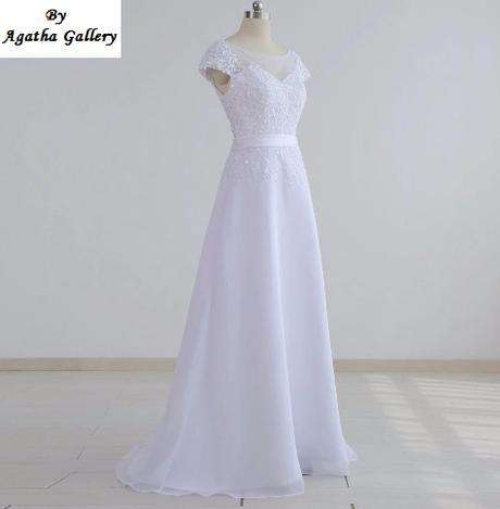 Dlhé svadobné šaty - 12 veľkostí, 16 farieb - Obrázok č. 4