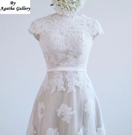 Dlhé svadobné šaty - 14 veľkostí, 5 farieb - Obrázok č. 4