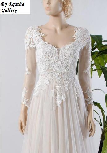 Dlhé svadobné šaty - 12 veľkostí, 15 farieb - Obrázok č. 4