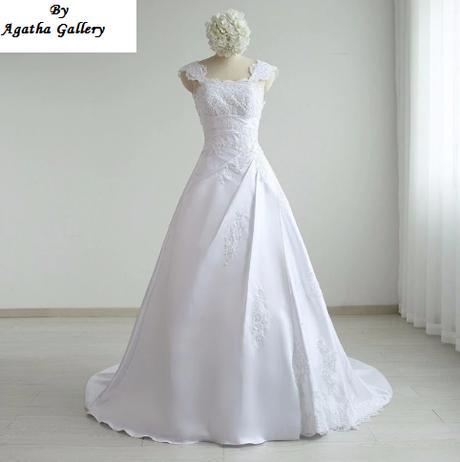 Dlhé svadobné šaty - 13 veľkostí, 12 farieb - Obrázok č. 1