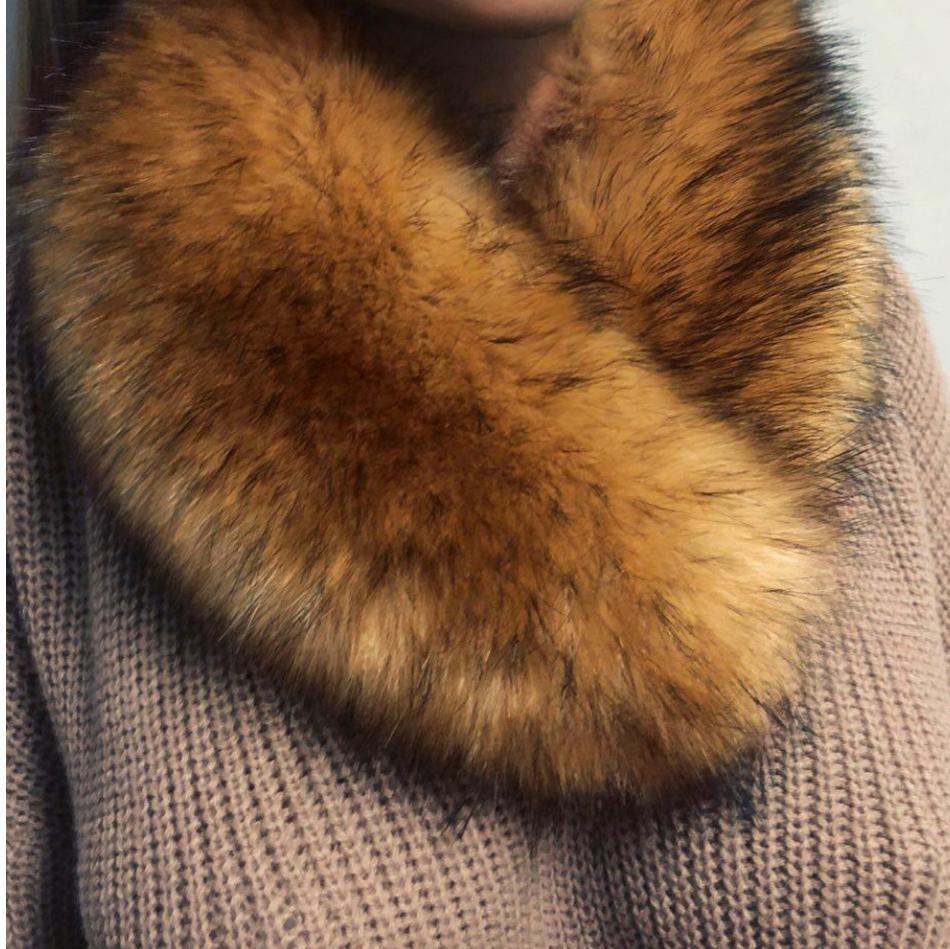 Kožušinový golier - líška - Obrázok č. 1