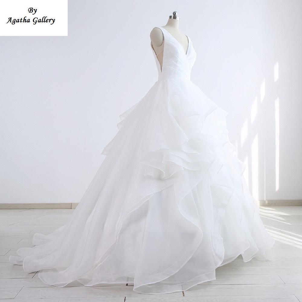 Dlhé svadobné šaty - 12 veľkostí, 16 farieb - Obrázok č. 2