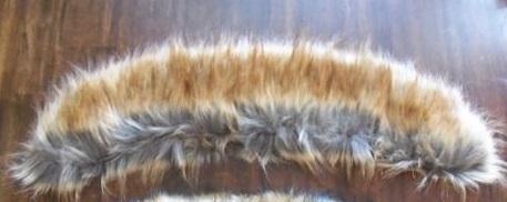 Kožušinový golier - líška - Obrázok č. 4