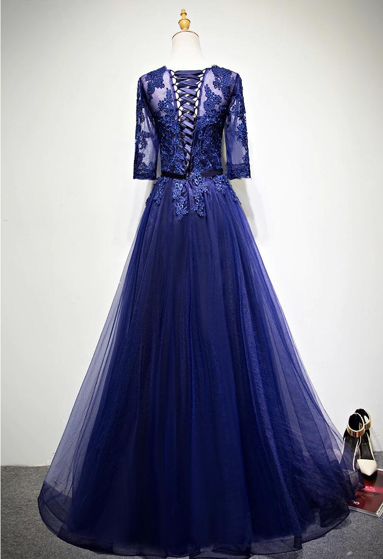 Kvalitné spoločenské šaty - 14 veľkostí - Obrázok č. 3