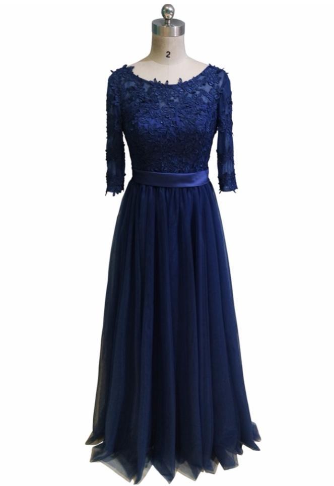 Kvalitné spoločenské šaty - 9 farieb, 12 veľkostí - Obrázok č. 1