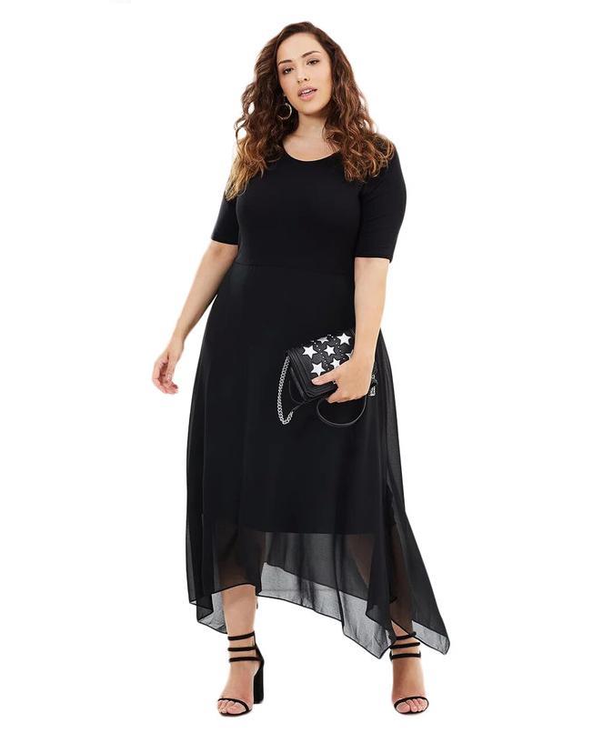 Dlhé spoločenské šaty pre moletky - Obrázok č. 1