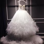 Dlhé svadobné šaty s dodaním ihneď EU 38/40, 38