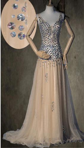 Kvalitné dlhé spoločenské šaty - 6 veľkostí - Obrázok č. 2