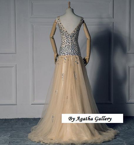 Kvalitné dlhé spoločenské šaty - 6 veľkostí - Obrázok č. 3