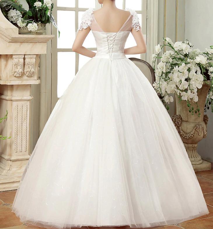 Dlhé svadobné šaty k dispozícii ihneď EU 42-46 - Obrázok č. 4