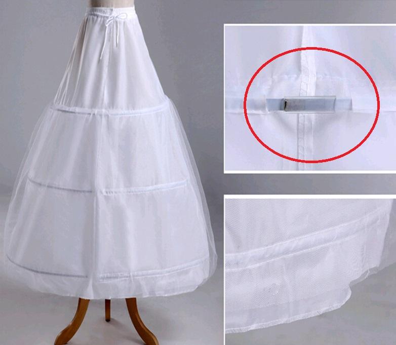 3 kruhová spodnička bez tylu - Obrázok č. 3
