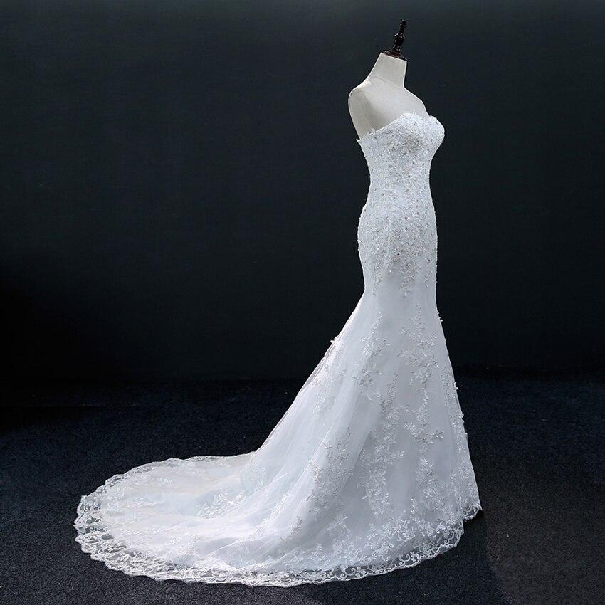 Dlhé svadobné šaty - 13 veľkostí, 2 varianty - Obrázok č. 4