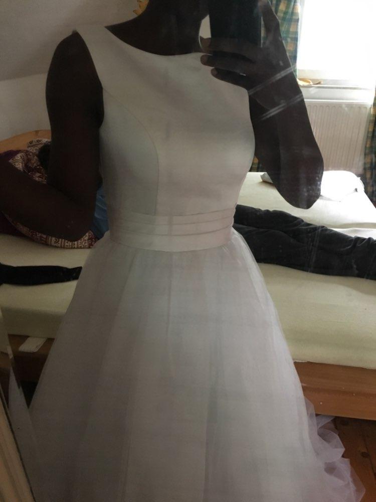 Dlhé svadobné šaty - 12 veľkostí - Obrázok č. 4