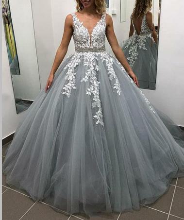 Dlhé svadobné šaty - 14 veľkostí - Obrázok č. 1
