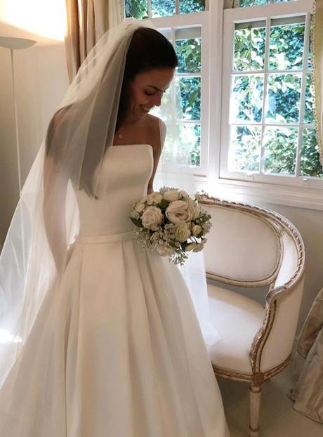 Dlhé svadobné šaty - 15 veľkostí, 2 farby - Obrázok č. 4