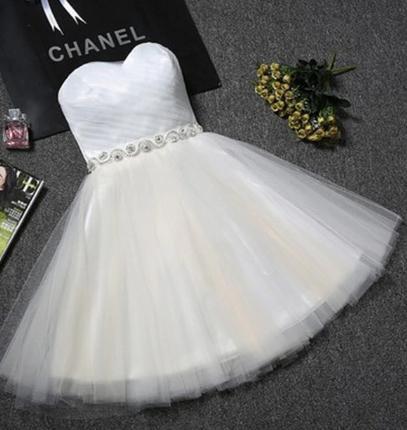 Krátke svadobné / po polnočné šaty - 8 farieb - Obrázok č. 2