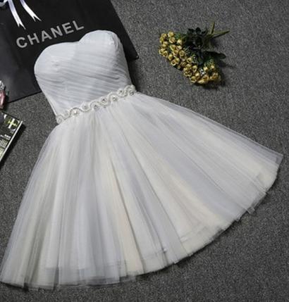 Krátke svadobné / po polnočné šaty - 8 farieb - Obrázok č. 3