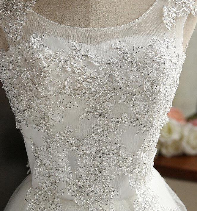 Krátke svadobné / po polnočné šaty - 6 veľkostí - Obrázok č. 4