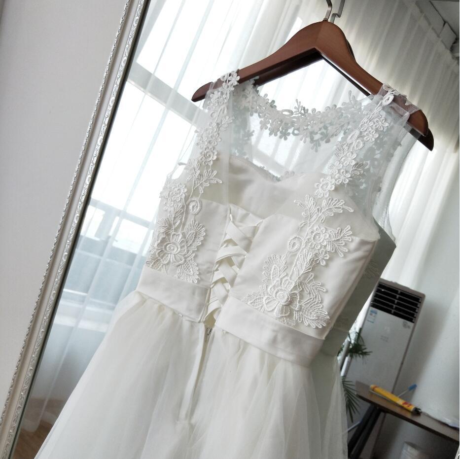Krátke svadobné / po polnočné šaty - 4 farby - Obrázok č. 2
