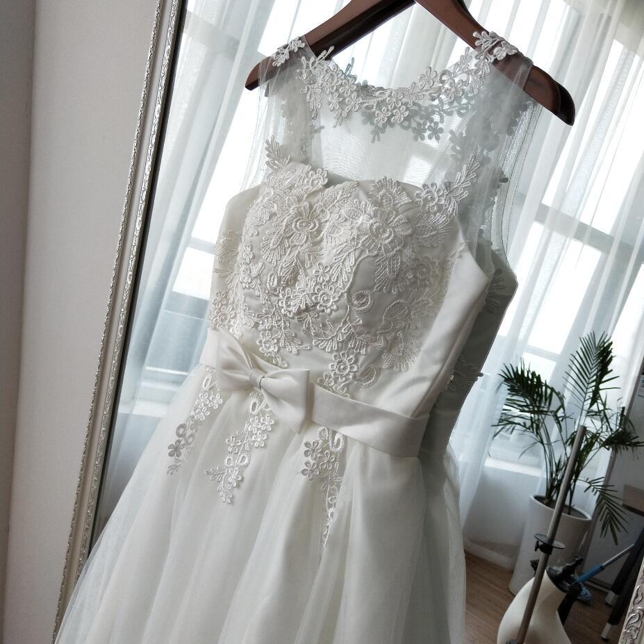 Krátke svadobné / po polnočné šaty - 4 farby - Obrázok č. 3