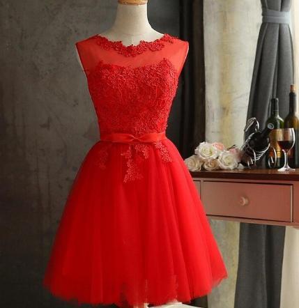 Krátke svadobné / po polnočné šaty - 4 farby - Obrázok č. 4