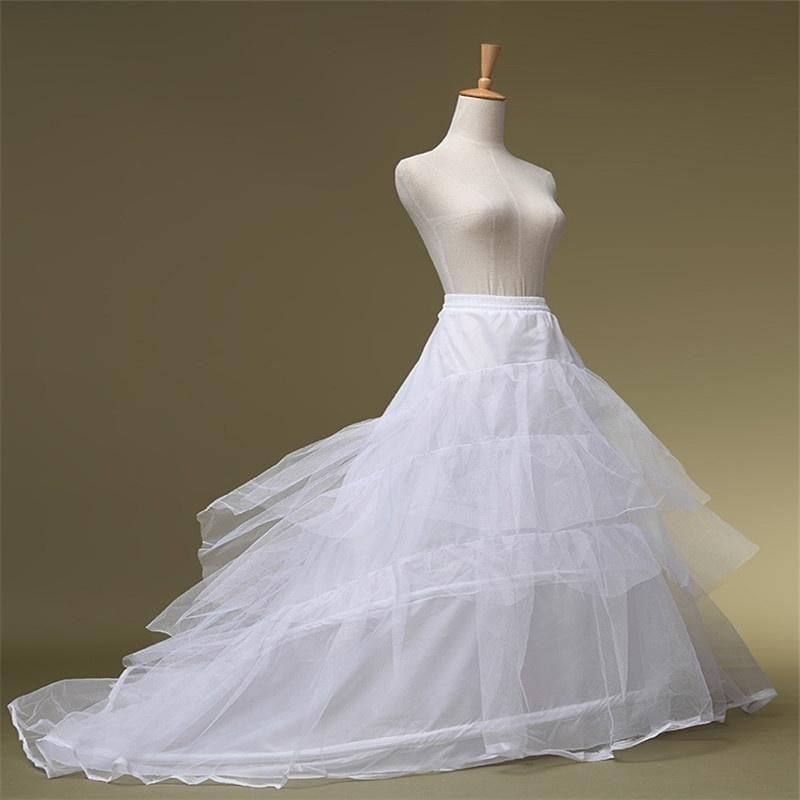 Spodnička pod šaty s vlečkou - Obrázok č. 1