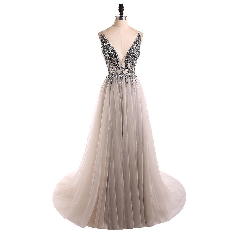 Dlhé spoločenské šaty - 13 veľkostí, viac farieb - Obrázok č. 1