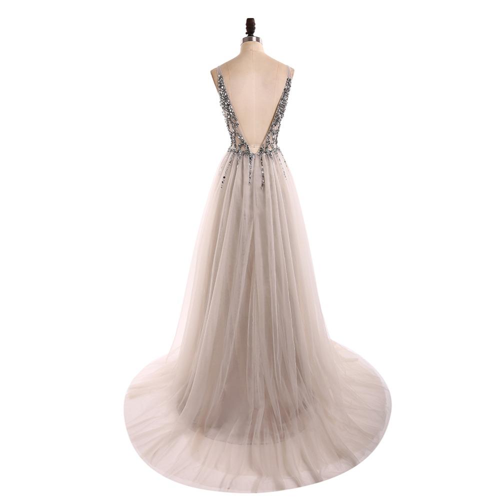 Dlhé spoločenské šaty - 13 veľkostí, viac farieb - Obrázok č. 2