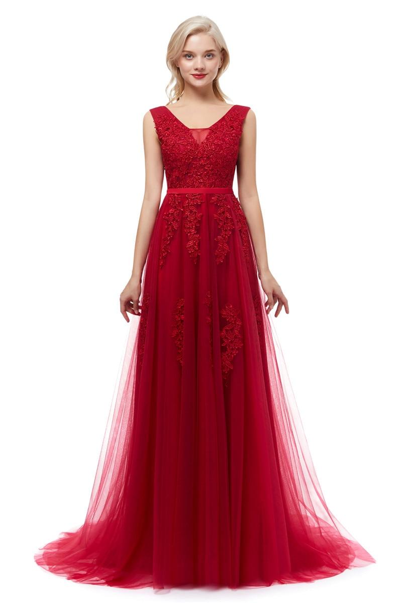 Dlhé svadobné šaty - 12 veľkostí, rôzne farby - Obrázok č. 1