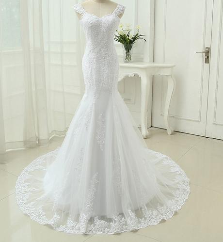 Výpredaj skladových zásob - svadobné šaty -EU38-42 - Obrázok č. 1