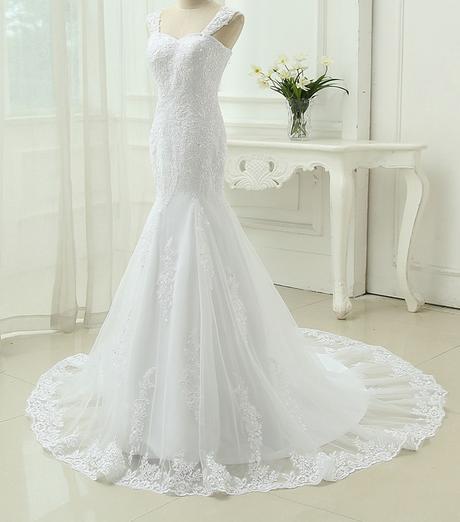 Výpredaj skladových zásob - svadobné šaty -EU38-42 - Obrázok č. 2