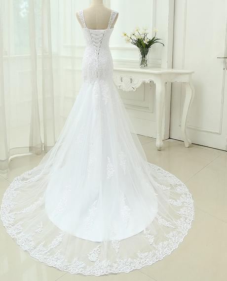 Výpredaj skladových zásob - svadobné šaty -EU38-42 - Obrázok č. 4
