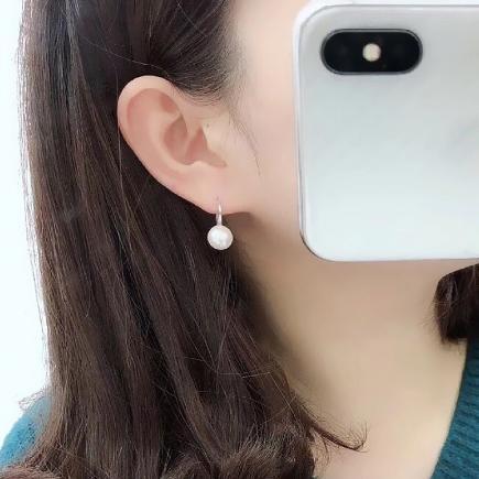 Náušničky s perlou - Obrázok č. 2