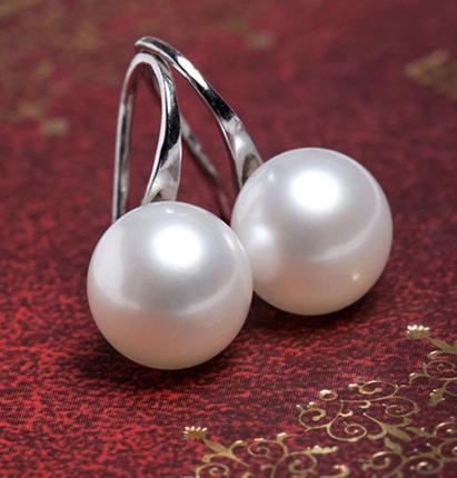 Náušničky s perlou - Obrázok č. 1