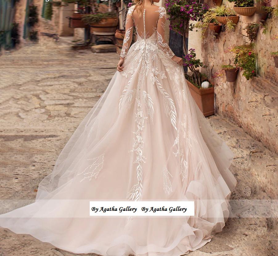 Dlhé svadobné šaty - 14veľ. - rôzne farby - Obrázok č. 2