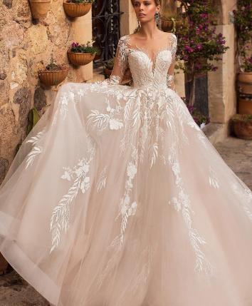 Dlhé svadobné šaty - 14veľ. - rôzne farby - Obrázok č. 3