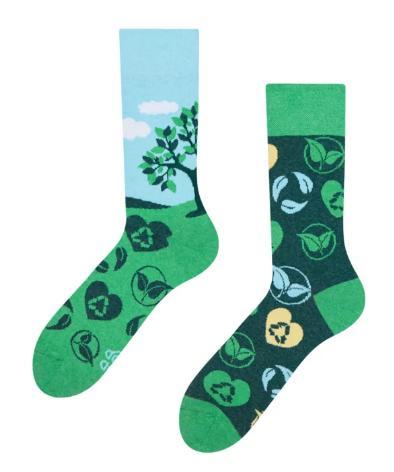 Veselé ponožky EKO zasaď strom - 43-46  - Obrázok č. 2