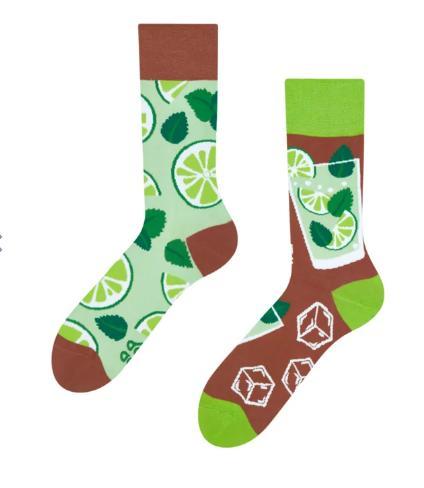Veselé ponožky Mojito - 39-42  - Obrázok č. 3
