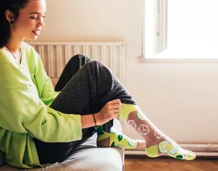 Veselé ponožky Mojito - 39-42  - Obrázok č. 2