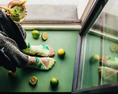 Veselé ponožky Mojito - 39-42  - Obrázok č. 1