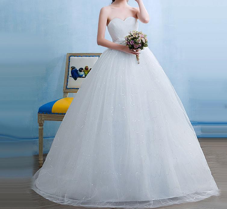 Tehotenské svadobné šaty - 12 veľkostí - Obrázok č. 2