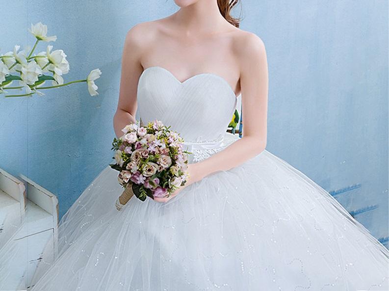Tehotenské svadobné šaty - 12 veľkostí - Obrázok č. 3