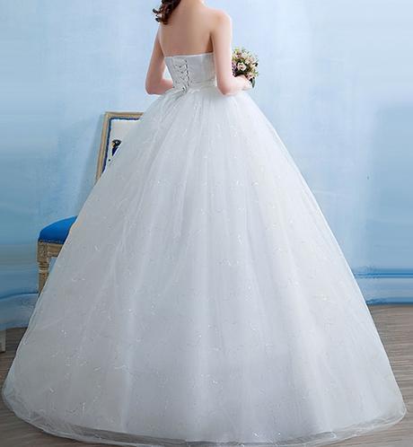 Tehotenské svadobné šaty - 12 veľkostí - Obrázok č. 4
