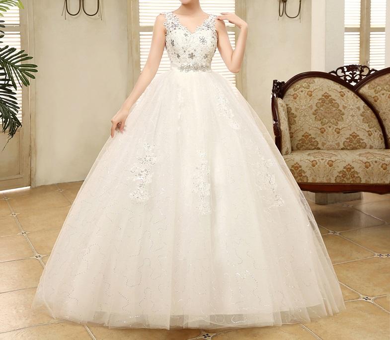Tehotenské svadobné šaty - 8 veľkostí - Obrázok č. 1