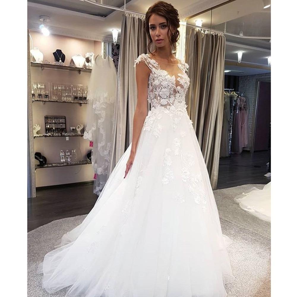 Dlhé svadobné šaty - 14 veľkostí, 5 farieb - Obrázok č. 2