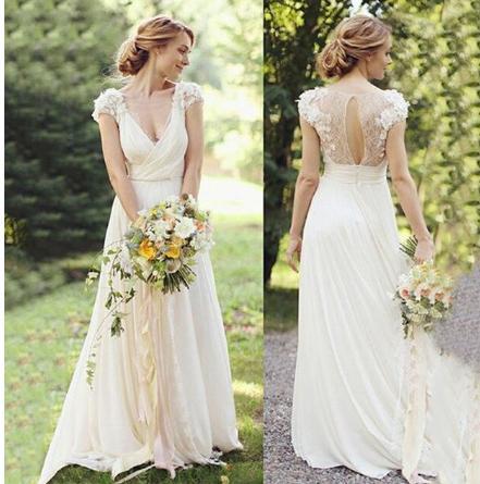 Dlhé svadobné šaty - 14 veľkostí - rôzne farby - Obrázok č. 1