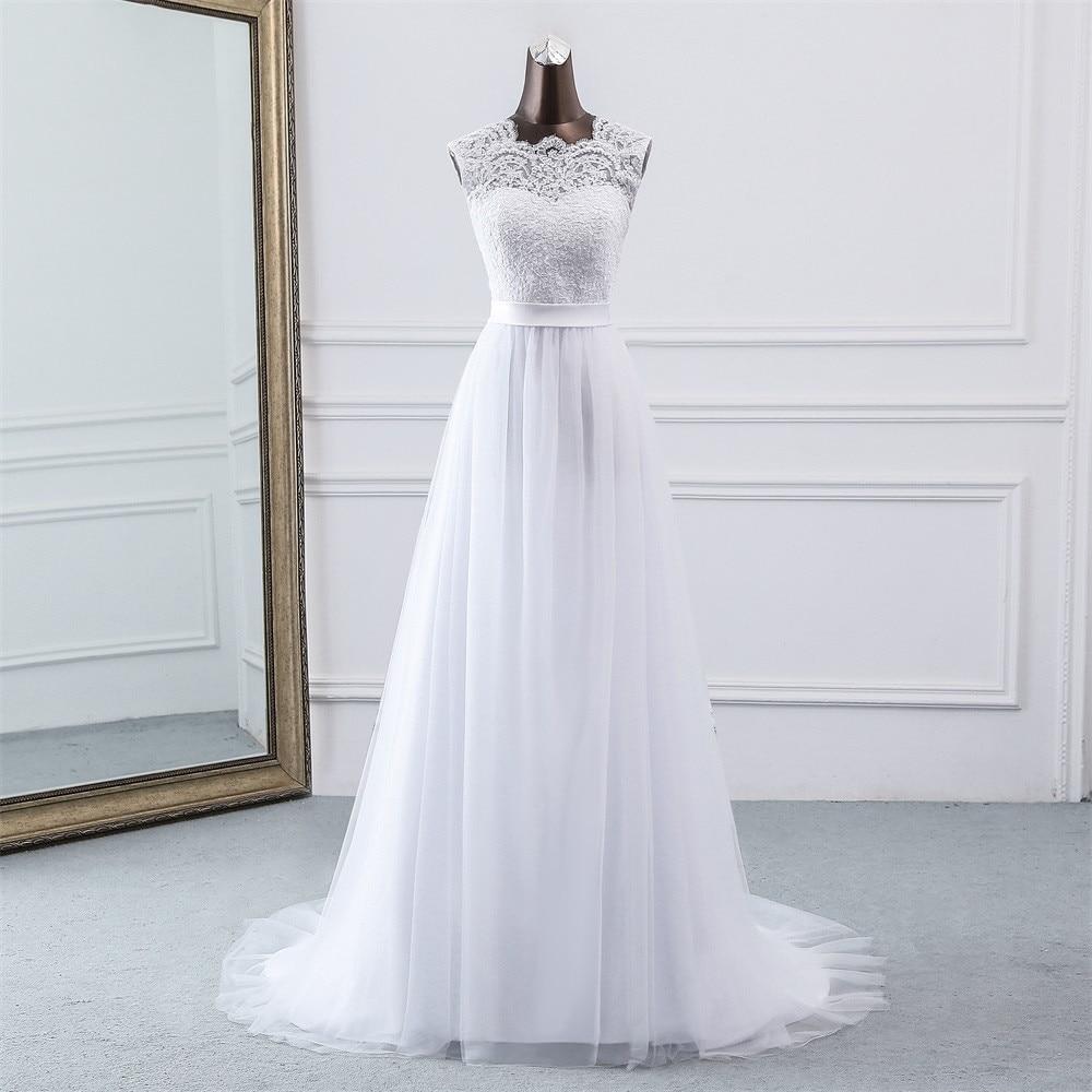 Svadobné šaty - EU 38/40 - skladom - Obrázok č. 3