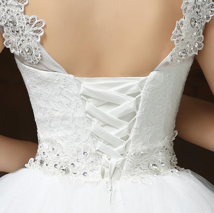 Svadobné šaty skladom - EU48/50 - Obrázok č. 2
