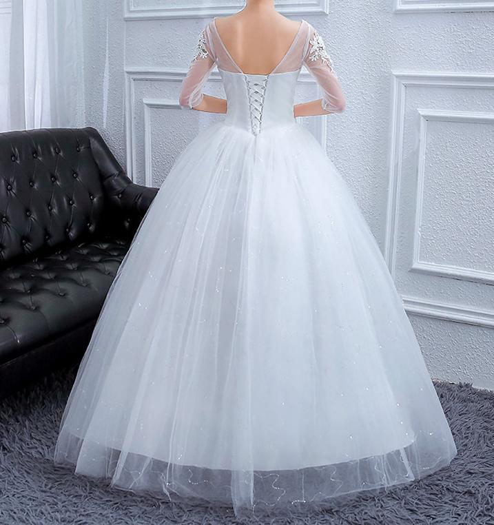 Svadobné šaty skladom - Obrázok č. 2