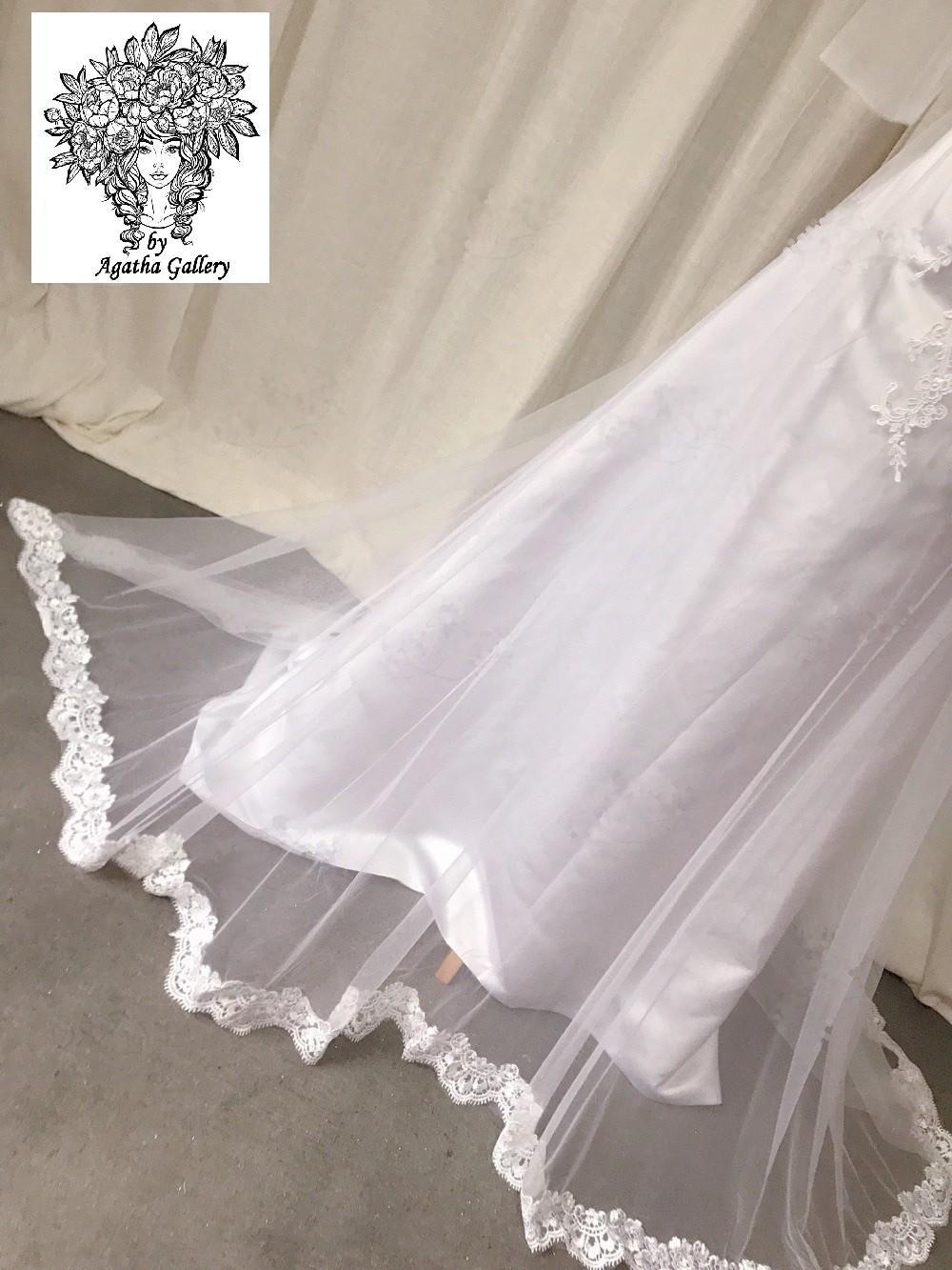 Svadobné šaty skladom - EU 34/36 - Obrázok č. 3